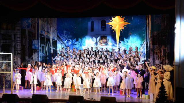 Christmas Concert at Bolshoi Theatre