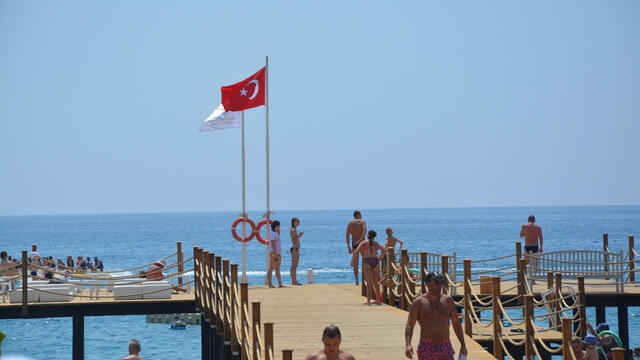Russian tourist flow to Turkey increased by 13.91% in the first half of the year