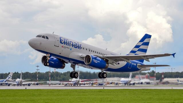 Ellinair and Aeroflot signed a partnership agreement