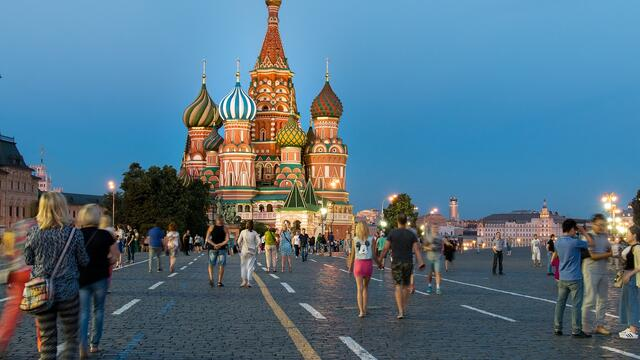 U.S. tourist visits to Russia rise steadily despite tensions