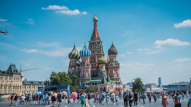 Russia's government has big plans for tourism