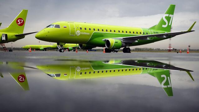 S7 Airlines has opened sales of tickets from Russia to foreign resorts